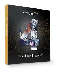 Newblue Titler Live 4 Broadcast Ultima Versão 2019