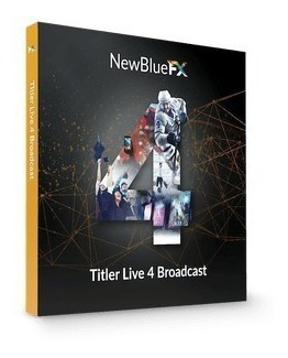 Newblue Titler Live 4 Broadcast Ultima Versão 2019