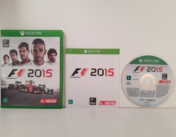 Formula 1 F1 2015 Xbox One Original Midia Física Completo