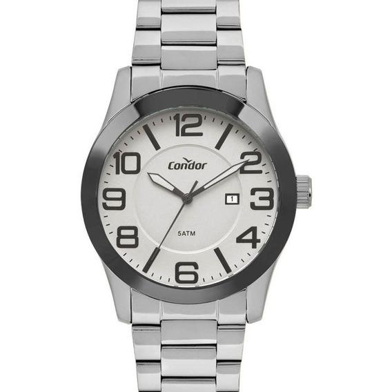 Relógio Condor Masculino Co2115ktr/k3c Kit Pulseira De Couro
