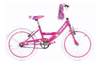 Bicicleta Cross Mega Rodado 20 Nene Nena Varon Mujer La Mas Top ! Reforzada Cross Bmx - Envios - Happy Buy + Regalo !