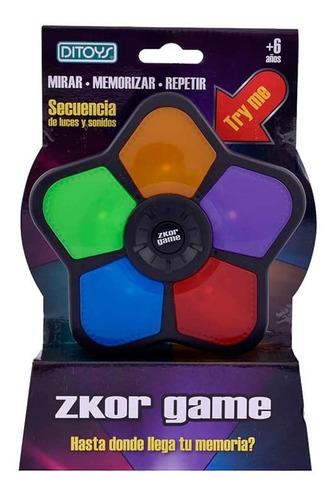 Juego De Mesa Zkor Game Memoria Ditoys