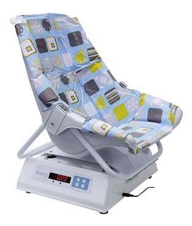 Balança corporal pediátrica digital Welmy 109E Confort 15Kg branca