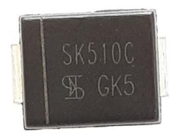 Diodo Sk510c Ss510 Mb510 Original 100v 5a Frete 8,00