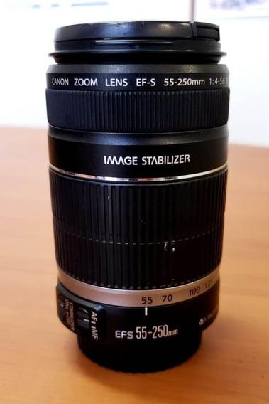 Lente Canon Ef-s 55-250mm 1:4-5.6 Is