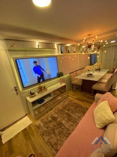 Apartamento Com 2 Dormitórios À Venda, 52 M² Por R$ 165.000,00 - Conjunto Vivi Xavier - Londrina/pr - Ap0712