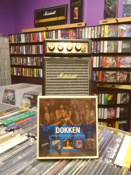 Dokken- Box Set 5 Cds. Union Europea.