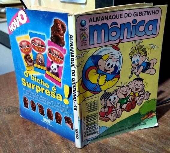 Almanaque Do Gibizinho Mônica #18