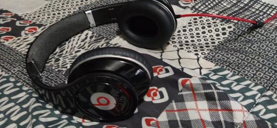 Fone De Ouvido Beats Studio 1 Modelo Pilha Aaa Preto By Dre