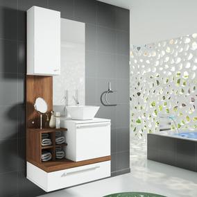 Gabinete Para Banheiro Sem Cuba Com Espelheira Ravenna Hb