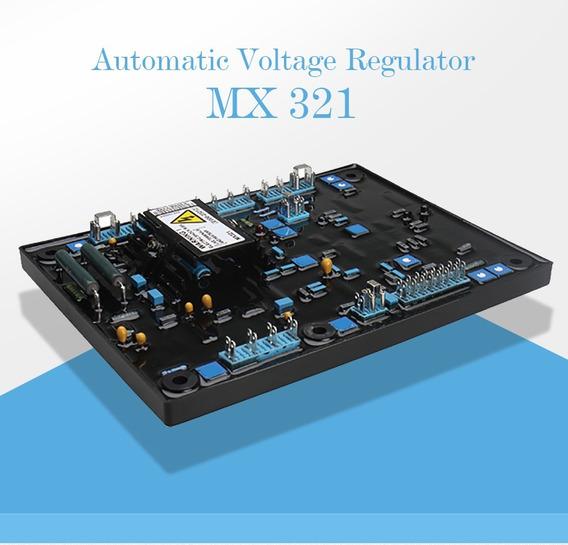 Avr - Regulador De Tensao Mx321 - Stamford Mx 321 Original