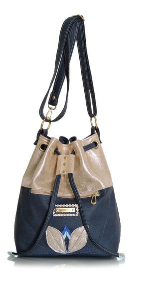 Bolso Detroit Azul Nuevo ! Isabella Cruz Bags