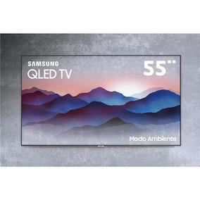 Smarttv Qled 55 4k Samsung Qn55q7fn Invisível Modo Ambiente