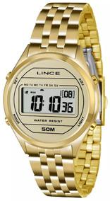 Relógio Lince Original Sdph020l Bxkx Feminino Dourado