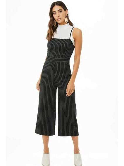 Jumpsuit Cropped Rayas