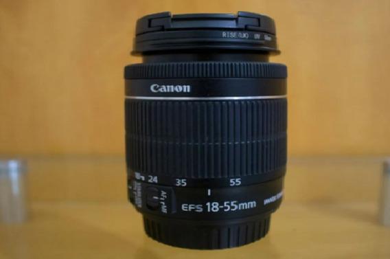 Lente Canon Ef-s 18-55mm F/3.5-5.6 Ii + Parassol