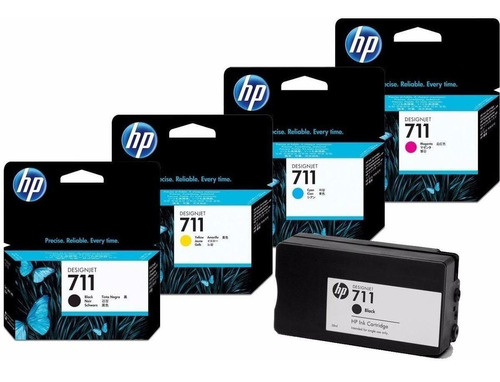 Cabezal Original Hp 711 Plotter T120 T520 Designjet + 4 Cart