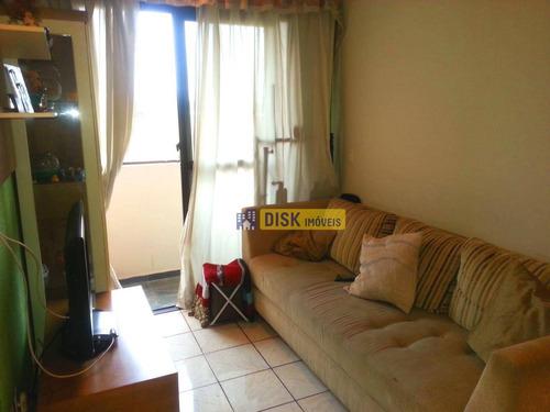 Apartamento Com 3 Dormitórios À Venda, 66 M² Por R$ 318.000 - Nova Petrópolis - São Bernardo Do Campo/sp - Ap1663