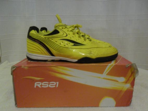 Zapatos Rs21 Talla 36 Amarillos