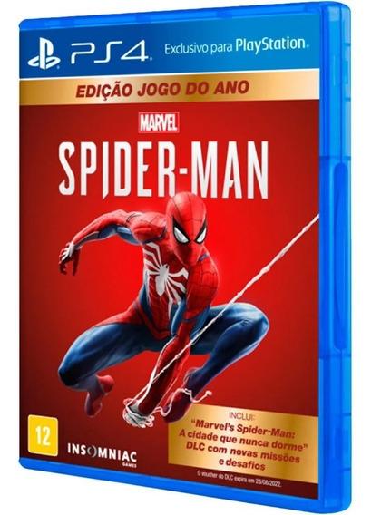 Marvel Spider Man Edição Jogo Do Ano Ps4 Midia Fisica Lacrad