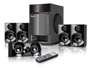 Teatro En Casa Sistema De Sonido 5.1 Bluetooth Usb 115 Wats