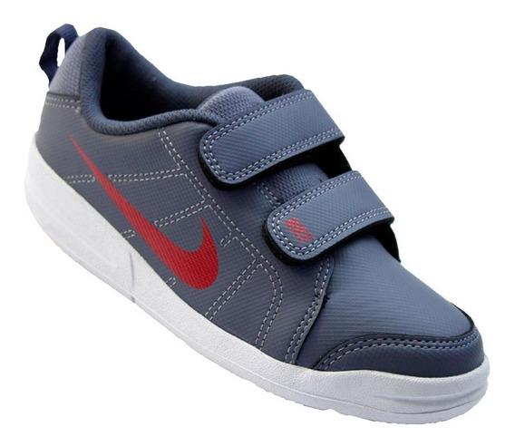 Tênis Nike Pico Lt Menino Infantil Cinza 619041003