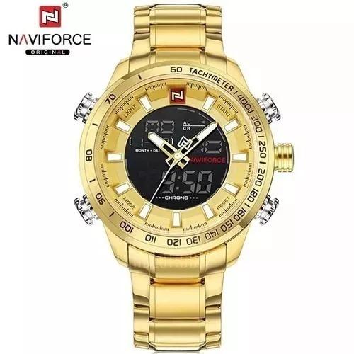 Relógio Masculino Naviforce 9093 Original Importado Luxo