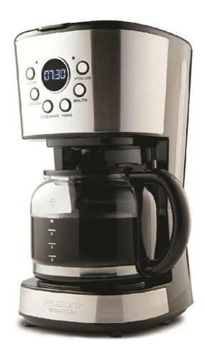 Imagen 1 de 1 de Cafetera Peabody Smartchef PE-CT4207 automática plata de filtro 220V