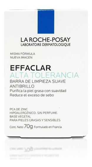 Barra De Jabón La Roche Posay Effaclar Alta Tolerancia 70 G