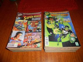 Hq Coleção Superman E Superman O Homem De Aço. 24hqs.