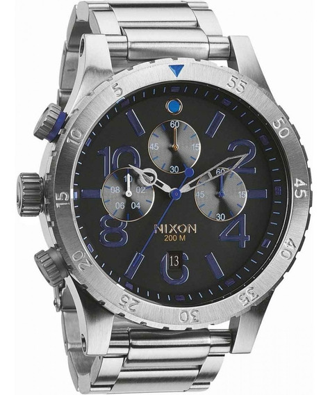 Relógio Nixon Masculino The 48-20 Chrono A486 1529 *midnight