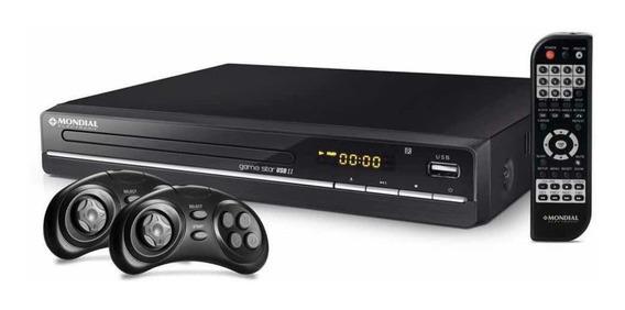 Dvd Mondial Game Star Il D14 Função Game 600 Jogos Com Usb