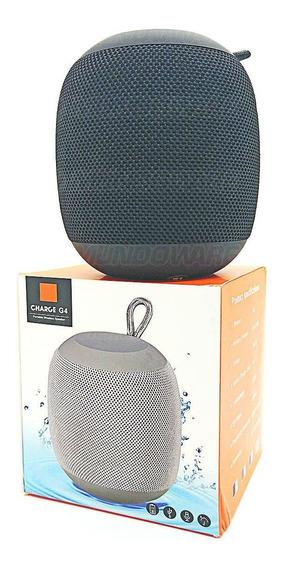 Caixa Bluetooth 9x9x10cm Sem Fio C/ Rádio Fm P2 Sd Usb Preta