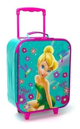 Mala Infantil C Rodinhas Tinker Bell - Disney Europa
