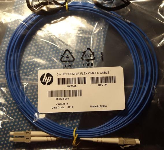 Hpe Premier Flex Lc/lc Multimode Om4 2 Fiber 5m Cable Qk734a