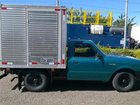 Ford Ranger 96/97 Com Baú Em Alumínio Carga Seca Fechada