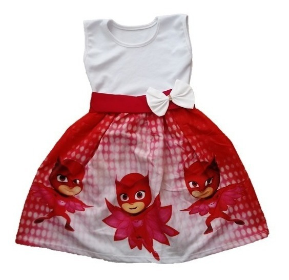 Vestido Infantil Festa Corujita - Roupa/ Fantasia