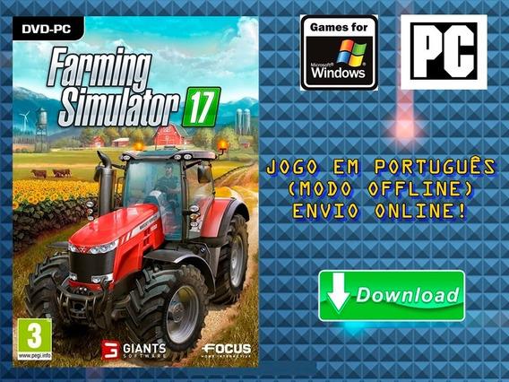 Farming Simulator 17 - Pc - Mídia Digital!!!