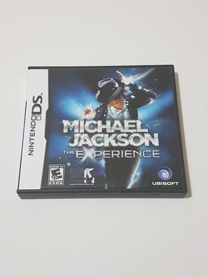 Capa Michael Jackson Experience Original Para Nintendo Ds