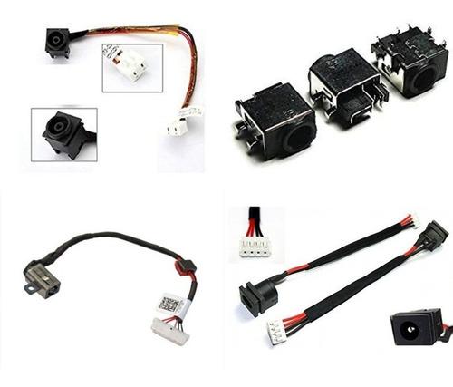 Imagen 1 de 8 de Pin De Carga Power Jack Laptop Hp Acer Dell Toshiba Sony Asu