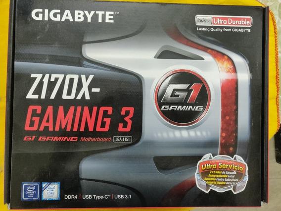 Kit Cpu Intel I7 6700k + Motherboard Z170x-gaming 3