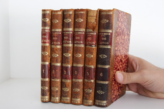 Lote Livros Para Decoração - 6 Volumes (completo) Antiga