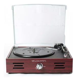 Bandeja Tocadisco Vinilo Wincofon Vintage Madera Winco W408