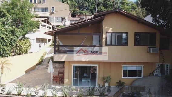 Casa Com 4 Dormitórios À Venda, 400 M² Por R$ 1.200.000,00 - Camboinhas - Niterói/rj - Ca0263