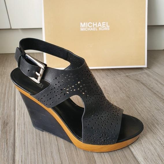 Zapatos Wedge Michael Kors Josephine Usados Talla 7mx