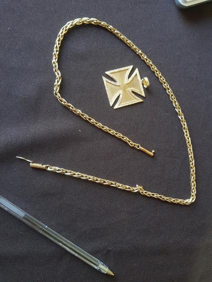 Cordão Ouro 18k 750 Masc 69.8gr 60cm X 5mm Maciço (sem Ping)