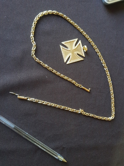 Cordão Ouro 18k 750 Vasco Masculino 85gr 60cm X 5mm Maciço