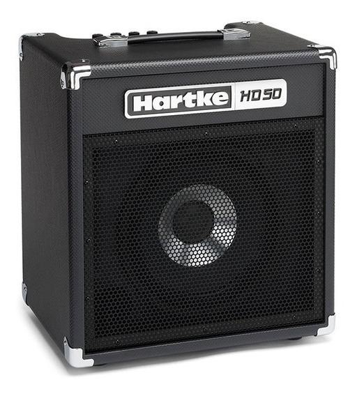 Amplificador Para Contrabaixo 50w Hd50 Hartke