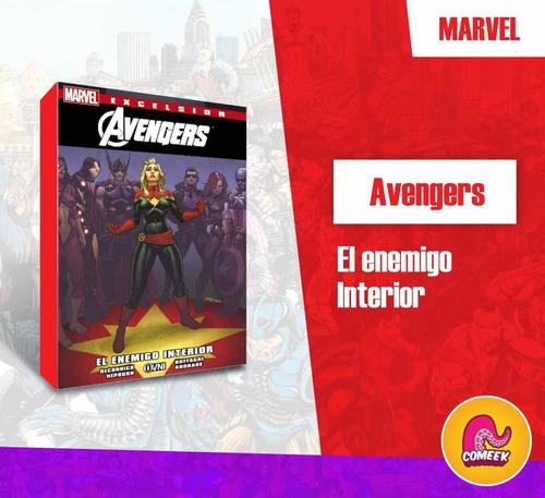 Imagen 1 de 2 de Comic Avengers El Enemigo Interior Español Latino Vengadores