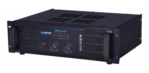 Amplificador Oneal Olp 4.1202 Potencia Olp 1000w Em 2 Ohms